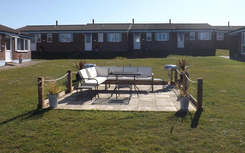 Communal Patio, Casatways, Kessingland, Suffolk